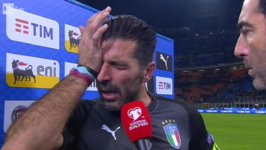 Buffon lacrime Mondiali