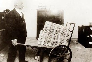 ignoraggio - Inflazione Repubblica di Weimar