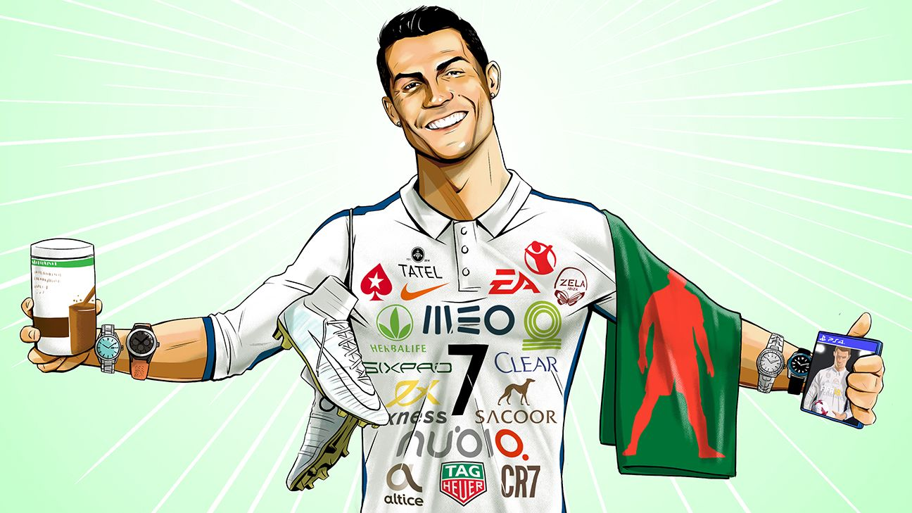 CR7 sponsorship