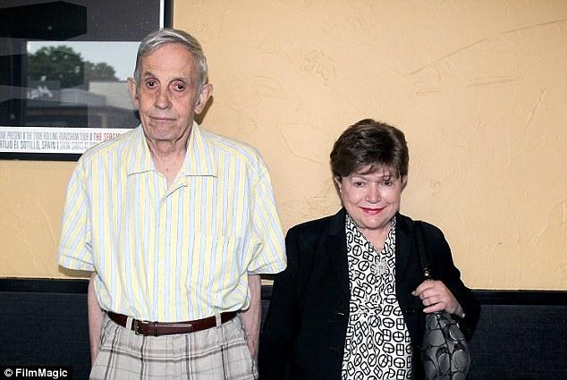 John Nash e sua moglie Alicia