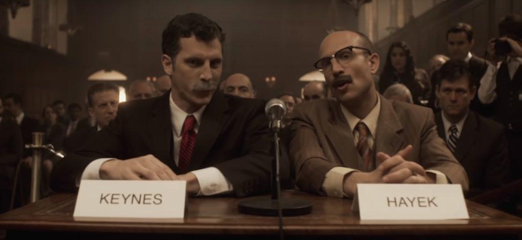 Keynes vs Hayek Rap Battle