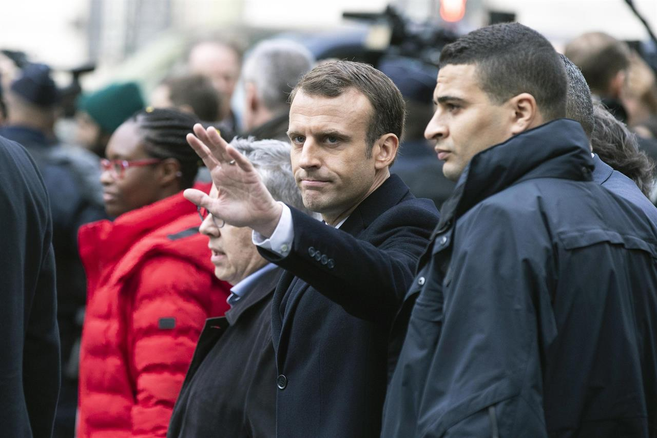 Gilet Macron