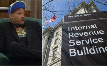 Lotteria Will Smith IRS