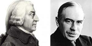 Tra liberismo e Keynes: due diversi pensieri