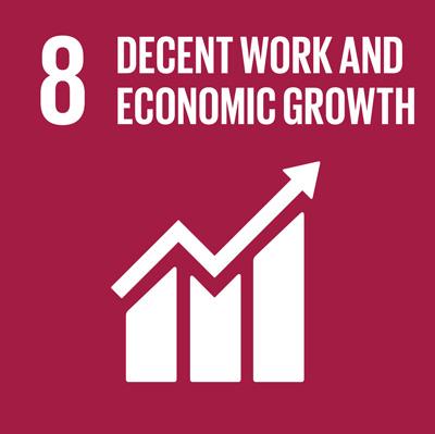 Buona occupazione e crescita economica La disoccupazione è un problema in molte parti del mondo, centinaia di milioni di persone sono disoccupate. Ovviamente, l'assenza di un lavoro non aiuta ad uscire dalla povertà. Questo obiettivo comprende obiettivi a sostegno della crescita economica, aumentando la produttività economica e la creazione di posti di lavoro. Esso prevede anche la lotta contro il lavoro forzato e la fine della schiavitù moderna e traffico di esseri umani entro il 2030. La crescita economica sostenibile non deve avvenire a scapito dell'ambiente, ed è per questo che l'obiettivo 8 mira anche a una migliore efficienza dei consumi delle risorse globali e della produzione prevenendo un degrado ambientale legato alla crescita economica.