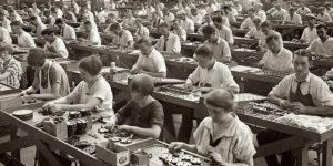 Accenni di storia: la razionalizzazione del lavoro