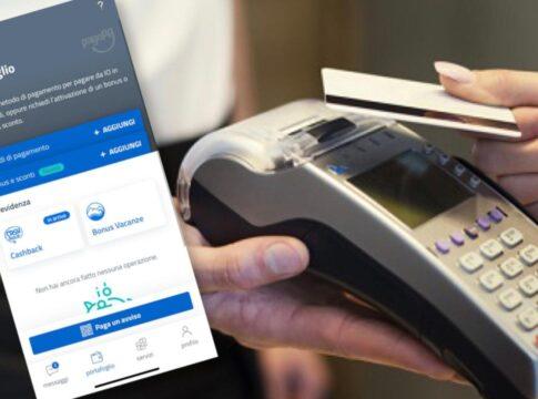 Piano cashback cashless evasione pagamenti elettronici app
