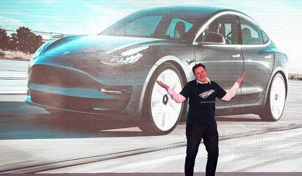 Tesla in Standard and poor 500